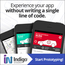 Indigo Studio: Experience your app without writing code