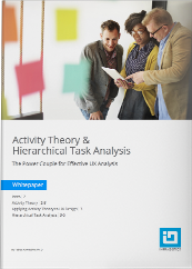 Activity Theory & Hierarchical Task Analysis