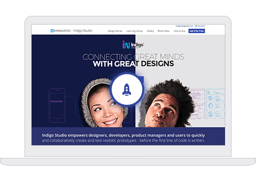 Create your first prototype with Indigo Studio