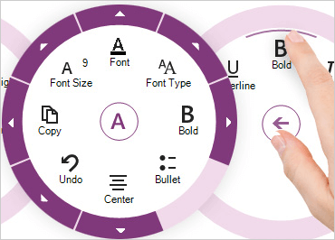 WinForms Radial Menu