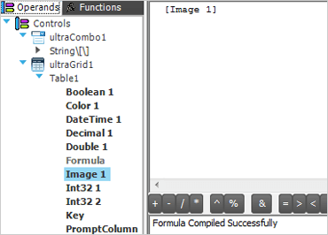 WinForms formula builder