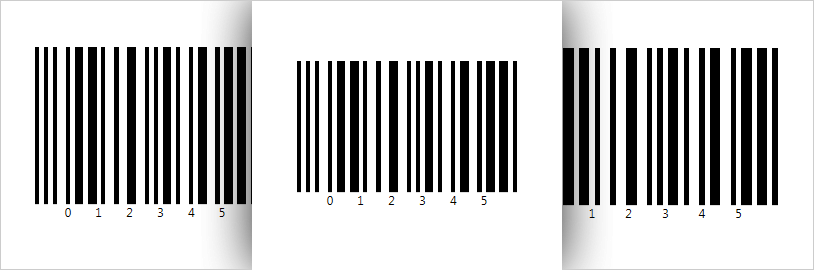 Control the height and width of barcode image