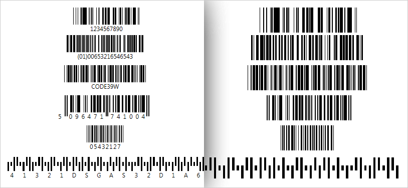 Have control over the display of your barcode's text