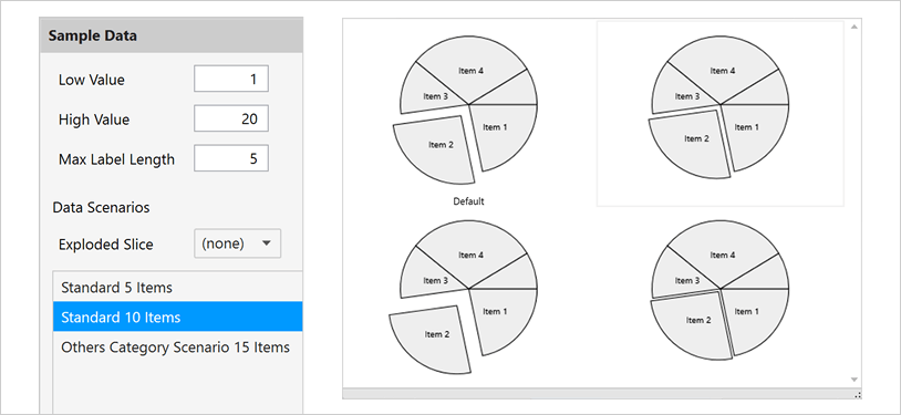 Xamarin Pie Chart: Slice Interaction