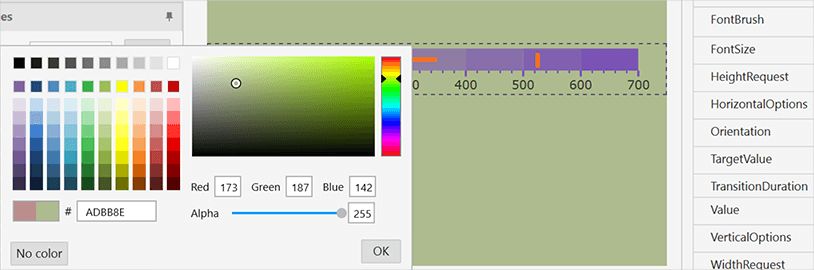 Xamarin Ensure Correct Color Views