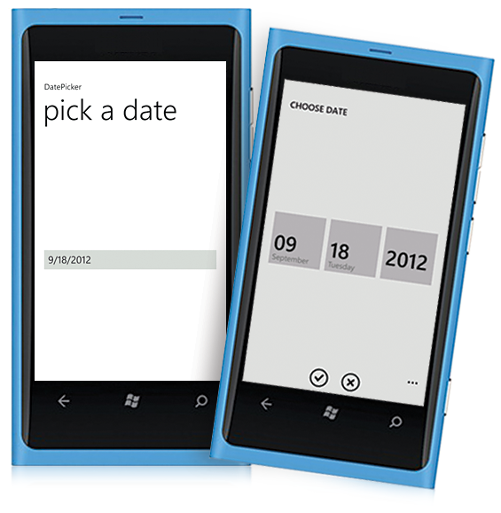 Windowsphone Datepicker