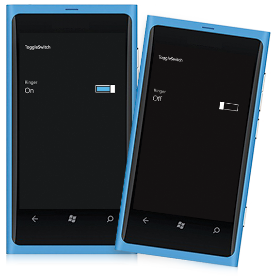 Windows Phone Toggle Switch