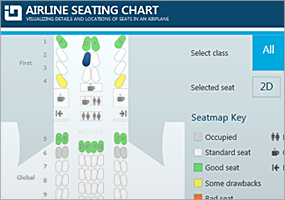 WPF Airline Seating Reference App
