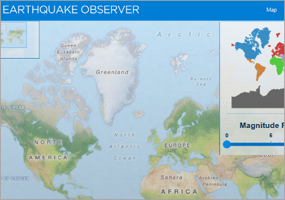 WPF Earthquake Reference App