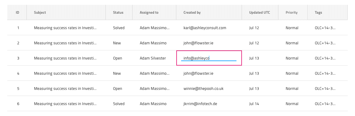 Grid Editing - Grid Feature - Native Angular | Ignite UI for