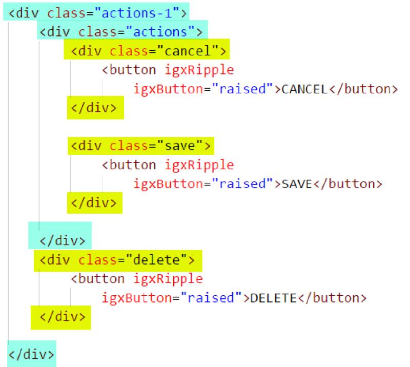 Layout Generation - Native Angular | Ignite UI for Angular