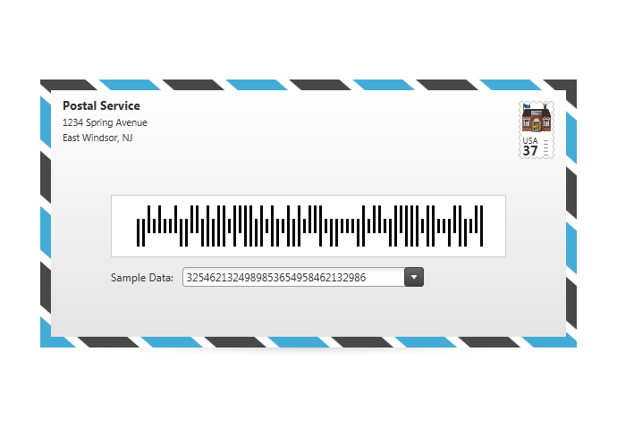 Intelligent Mail - Barcode - WPF