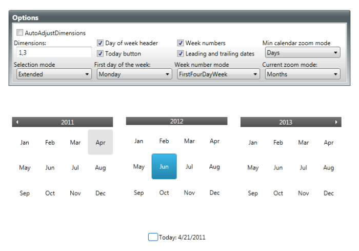 Calendar Settings - Calendar - WPF Google
