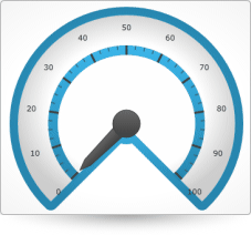 Silverlight Radial Gauge Configuration