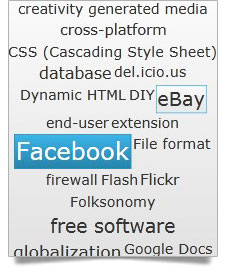 Silverlight Tag Cloud