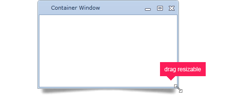 User's can resize the dialog window to what best fits their needs.